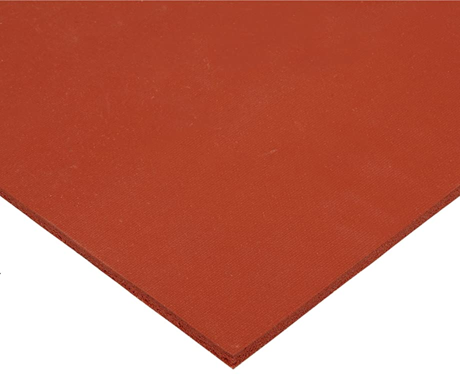 CS Hyde Silicone Sponge Rubber, Closed Cell, Commercial Grade, Medium Density, Acrylic Adhesive, 0.062