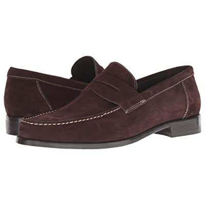 Bruno Magli Pecan (Dark Brown Suede) Men