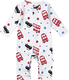Stoffwindel Piccalilly Baby Schlafanzug mit F/ü/ßen 100/% frei von Chemikalien Bio-Baumwolle
