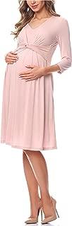 QIANDUOO EULAGPRE Pregnant Women Bra Chiffon Stitching Long Dress Maternity Gown Photography Props