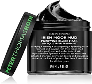 Peter Thomas Roth Irish Moor Mud Purifying Black Mask for All Skin Types, 150ml