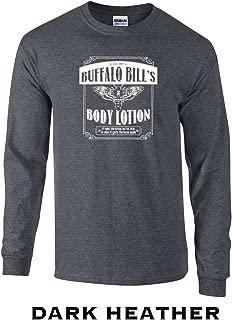 355 Buffalo Bill's Body Lotion Funny Adult Long Sleeve T Shirt