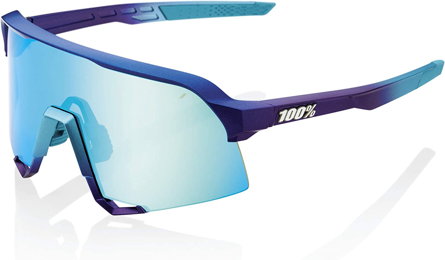 Ride 100/% Cycling Sunglasses S3 Soft Tact Flume HiPER Red Multilayer Mirror
