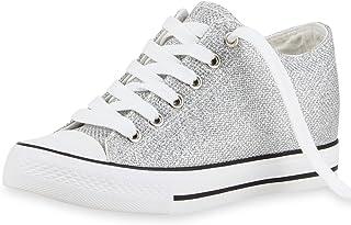 Suchergebnis auf für: WEDGES Silber Sneaker
