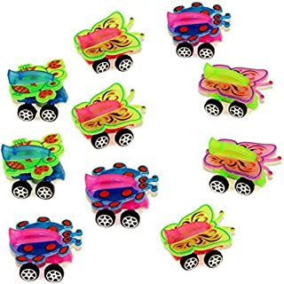 Mini Animal Toy Cars - 24 Pack Assorted Miniature Cars - Animal Shaped Vehicles Gift Pack - Set of 24 Mixed Styles
