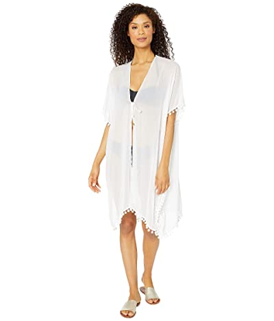 Bleu Rod Beattie Gypset Kimono Caftan Cover-Up (White) Women