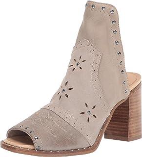 Sbicca Women's Slip-On Heeled Sandal, Stone, 7