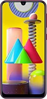 Samsung Galaxy M31 Dual SIM, 128GB, 6GB RAM, 4G LTE, UAE Version - Red - 1 year local brand warranty