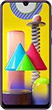 "Samsung Galaxy M31 SM-M315F/DS 4G LTE 128GB + 6GB Ram 6.4"" Global 4G LTE International Model (Red)"