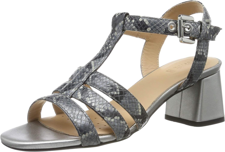 Geox Women's T-Bar 25% OFF Cheap SALE Start Sandals