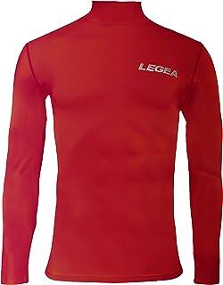 LEGEA, 6 Dynamic Body - Camiseta de manga larga cuello alto para hombre
