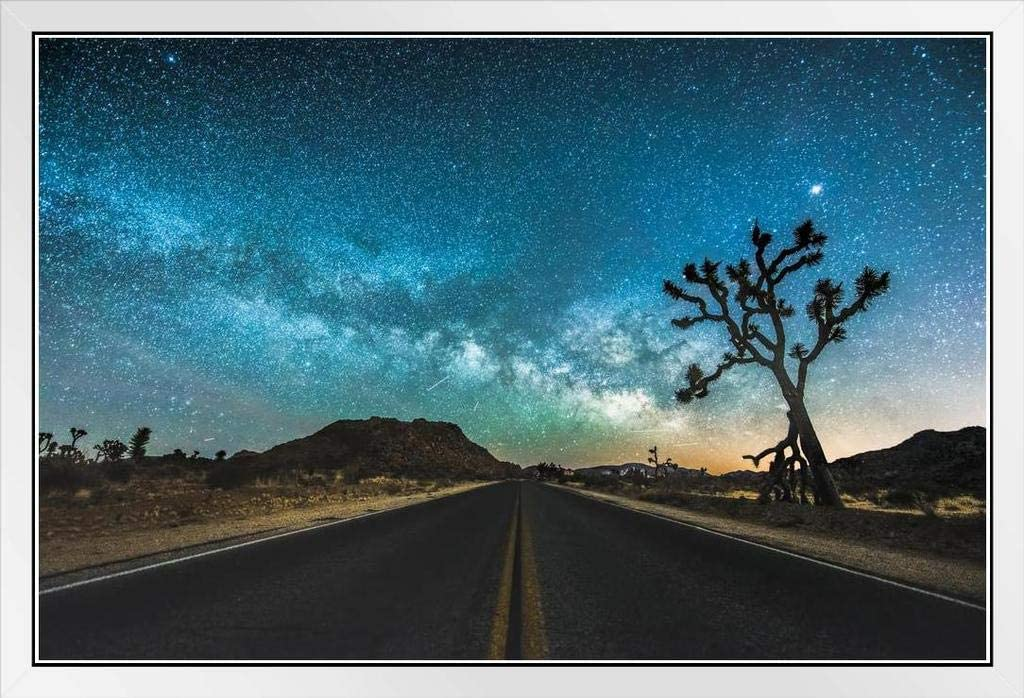 JT Road Joshua Tree National Park Photo Starry Wh Challenge the lowest price Photograph Max 52% OFF Sky