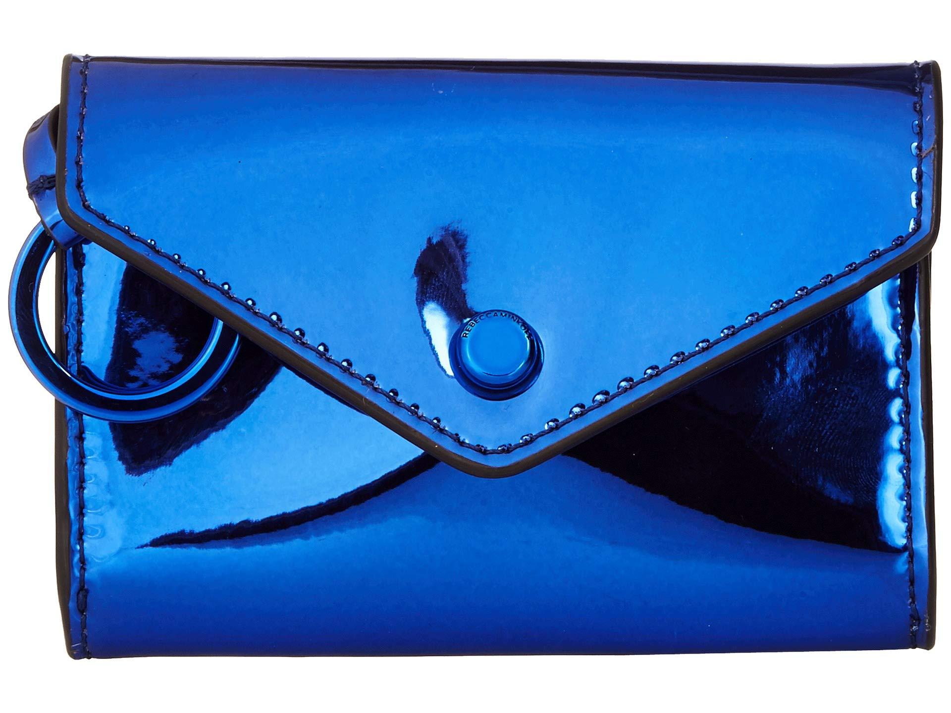 Ring Wallet Blue Minkoff Bifold Key Rebecca 7q6Cpwp
