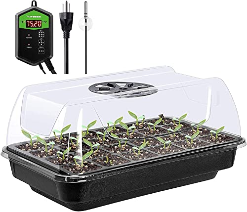 high quality VIVOSUN 2021 Heating lowest Germination Kit-Seedling Propagation Tray and Digital Temperature Controller sale