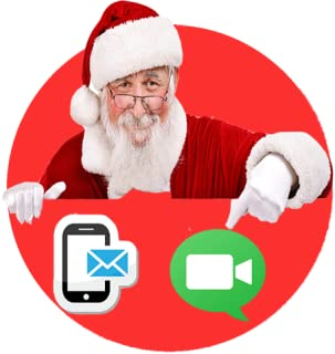 free text messages from santa