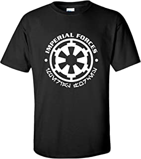 Imperial Forces Sci-fi Movie Black T-Shirt
