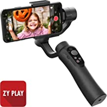 CINEPEER Phone Gimbal, 3-Axis Gimbal Stabilizer for iPhone Android, ZY Play App Support, Video Gimbal for iPhone/Android with Object Tracking, Panorama, Time-Lapse and More - CINEPEER C11