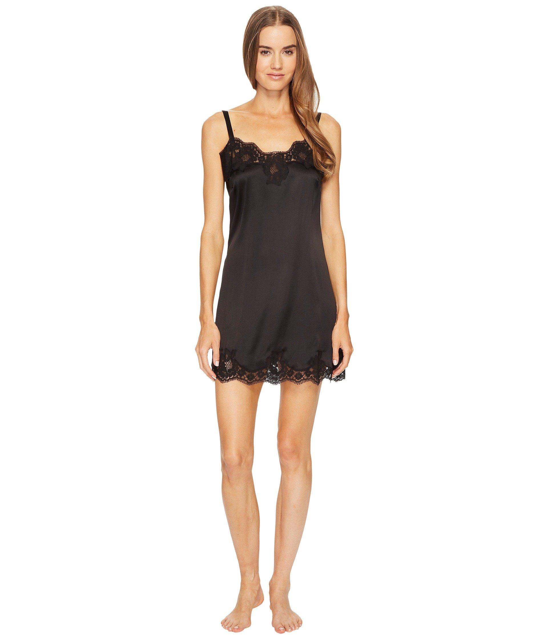 Lenceria Dolce andamp; Gabbana Stretch Satin Lace Long Cami Dress  + Dolce & Gabbana en VeoyCompro.net