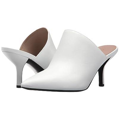 Diane von Furstenberg Mikaila (White Soft Barcellona Calf) Women