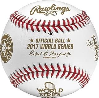 Rawlings 2017 MLB World Series Dueling Teams Baseball Houston Astros LA Dodgers
