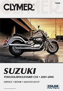 Clymer Repair Manual for Suzuki Volusia Boulevard C50 01-06