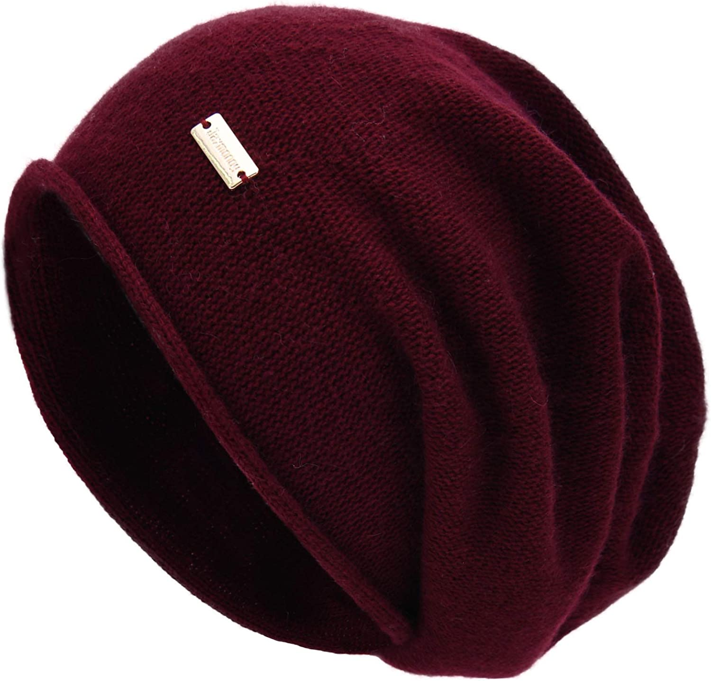 jaxmonoy Cashmere Slouchy Knit Beanie Soft Women Winter Low price for Hat San Diego Mall