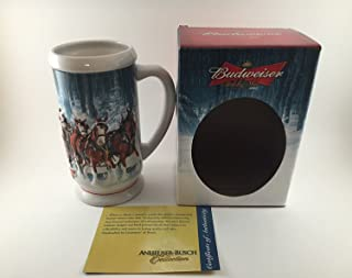 Budweiser Holiday Steins Collectible Holiday Stein Series (Year 2007)