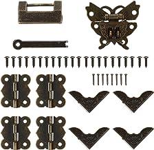 Angoily Vintage Kast Antiek Messing Kast Klink Retro Decoratieve Kastdeur Klink Voor Meubels Kast Kast