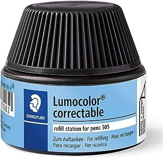 1 X Lumocolor Correctable Pen Refill Station Black