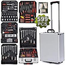 616Pcs taller caja de herramientas carro de almacenamiento de equipos cuadro de garaje mecánico caja de herramientas caja de herramientas de organización de lanzador