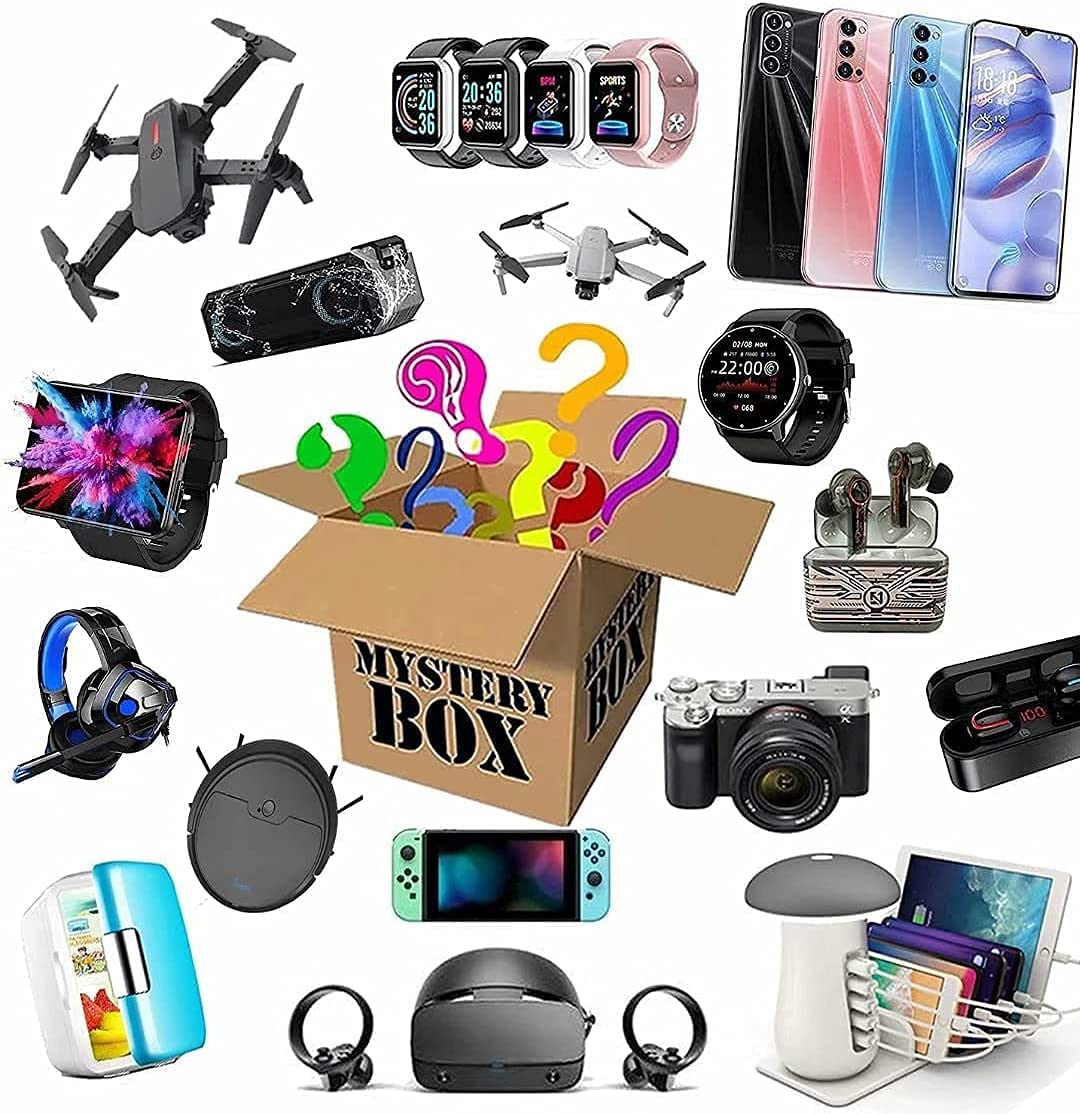 Mystery Box Boxes Electronic Mysterious Products Random Spasm Large-scale sale price