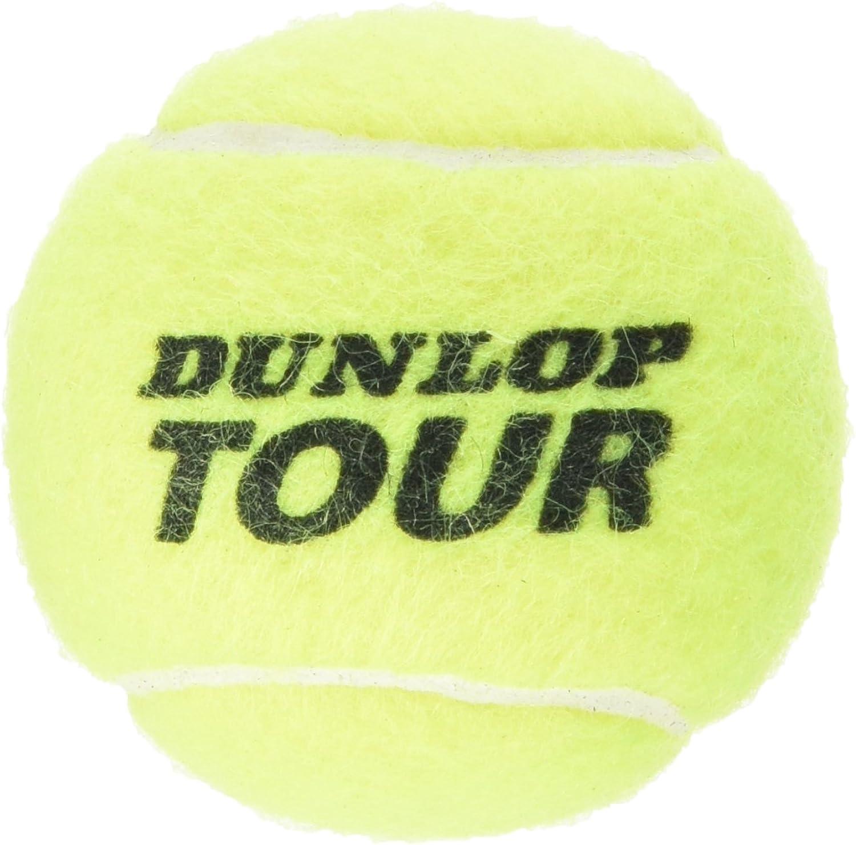 Dunlop Tour Performance Plastic Tube of 4 Balls