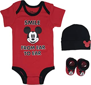 Disney Baby Girl's Minnie Mouse 3-pc Set in Gift Box Baby Costume