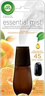 Air Wick Essential Oils Diffuser Mist Refill, Mandarin & Sweet Orange, 1ct, Air Freshener
