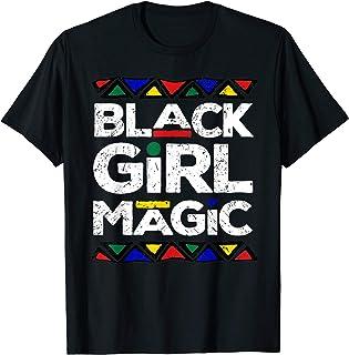 Black Girl Magic Black History Month Panthers Gift Design T-Shirt
