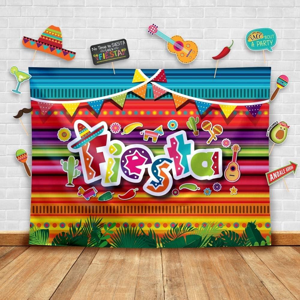 Fiesta Theme Photography Backdrop ...