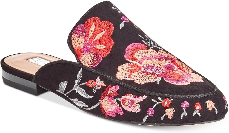 INC International Concepts Womens Gannie 12 Closed Toe Mules, Black, Size 6.5