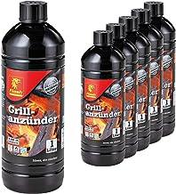 6 Liter Flash Grillanzünder Grill-Anzündhilfe Flüssig-Anzünder BBQ Holzkohle Brikett