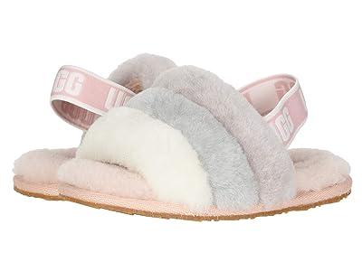 UGG Kids Fluff Yeah Slide (Toddler/Little Kid) (Quartz Multi) Girls Shoes