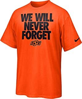 NIKE OSU Oklahoma State Cowboys Rise & Roar We Will Never Forget Men's T-Shirt