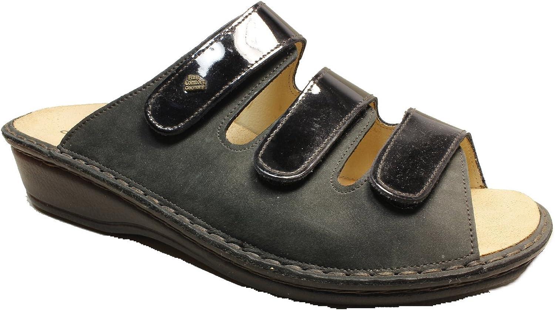 FinnComfort Sandale Pisa Schwarz - Größe 42