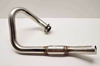 Color: Natural Material: Stainless Steel 044244 FMF Racing PowerBomb Header Stainless Steel