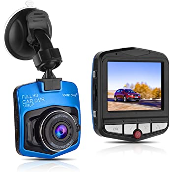 Car Dash Cam by COSBITY Mini LCD Car Video Camera Recorder with FHD HD1080pP Loop Recording for Cars Night Vision