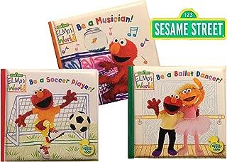 Sesame Street® Bath Time Bubble Books: Be a Ballet Dancer!, Be a Soccer Player!, Be a Musician!