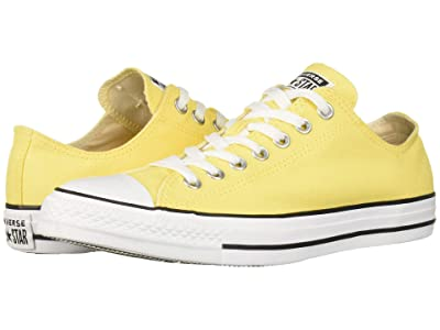 Converse Chuck Taylor All Star Ox (Butter Yellow/White/Black) Lace up casual Shoes