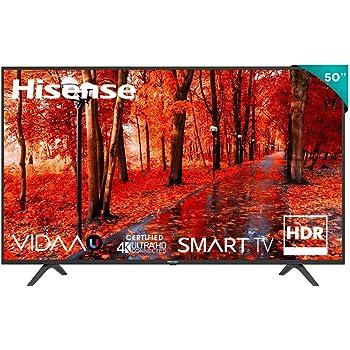 Hisense 50'' Serie H6F VIDAA Smart TV 4K UHD Compatible con HDR10 (50H6F)