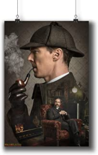 Sherlock TV Series Poster Small Prints 010-325 Popular TV Show,Wall Art Decor for Dorm Bedroom Living Room (A3|11x17inch|29x42cm)
