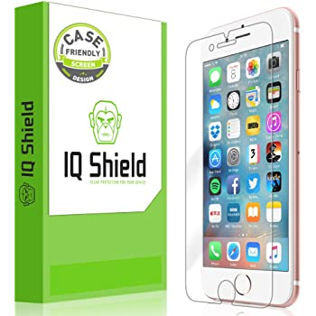 IQ Shield Screen Protector Compatible with Apple iPhone 7 (Case Friendly) LiquidSkin Anti-Bubble Clear Film