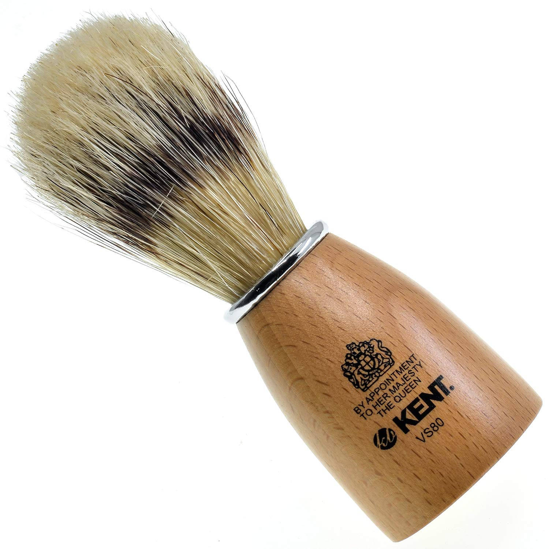 Kent High material VS80 Natural Badger Bristle Kit Brush M It is very popular for Shaving