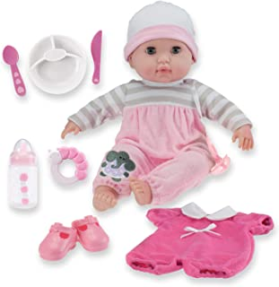 "15"" Realistic Soft Body Baby Doll with Open/Close Eyes 